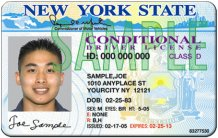 DMV conditional license in the context of DWI