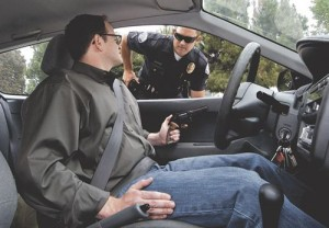 how to deal with a traffic stop by a cop in New York