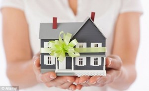 inherit a house or personal property