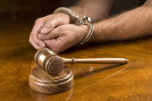 DWI Conviction Man Handcuffed