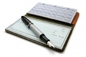 estate checkbook