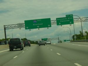 Unsafe Lane Change New York