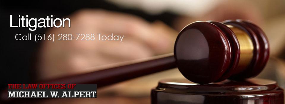 estate litigation attorney long island ny michael alpert