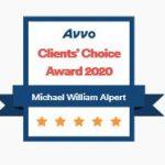 avvo-clients-choice-award-2020-michael-w-alpert